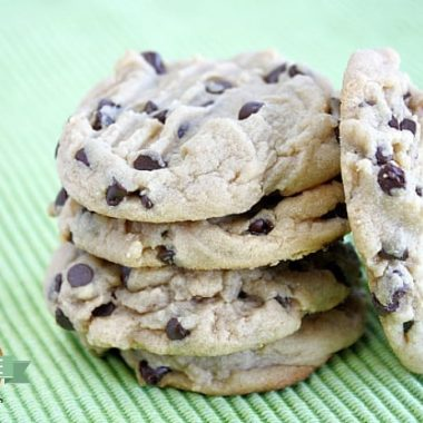 Best Chocolate Chip Peanut Butter Cookies