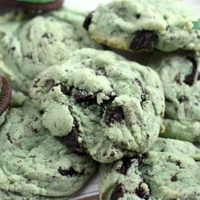MINT OREO PUDDING COOKIES