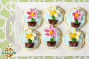 MARSHMALLOW FLOWER COOKIES