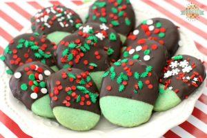 MINT CHRISTMAS COOKIES
