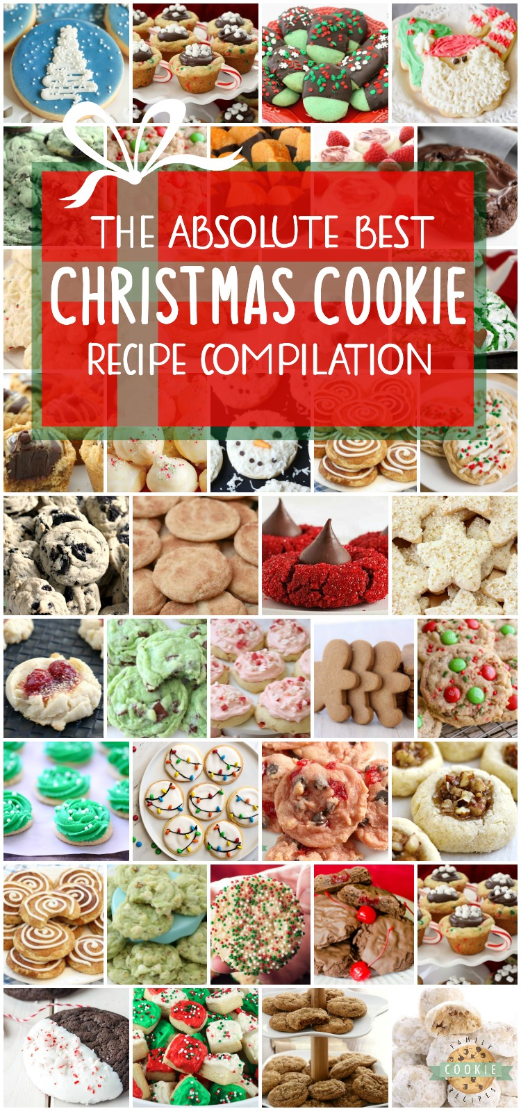 Best collection of easy Christmas Cookies ever- they're even approved for Santa himself! Our Christmas cookies are perfect for holiday parties, cookie exchanges and neighbor goodie plates! via @buttergirls
