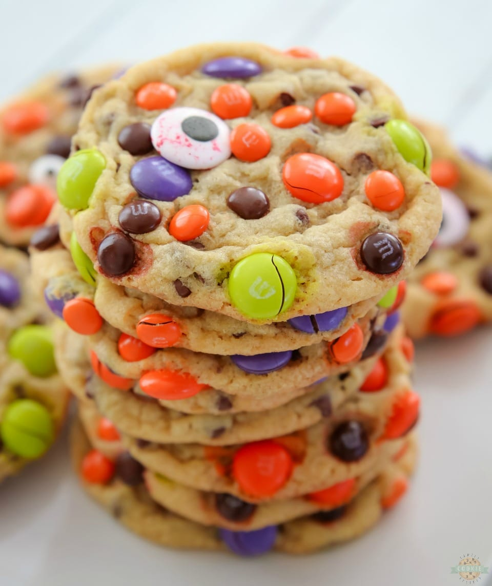 M M Halloween Cookies Family Cookie Recipes