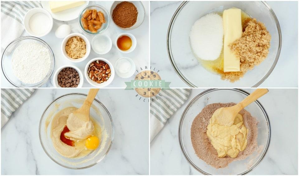 how to make Chocolate Turtle Cookies recipe