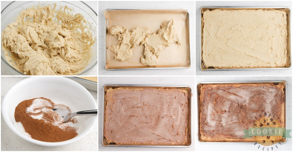 How to make snickerdoodle cookie bars