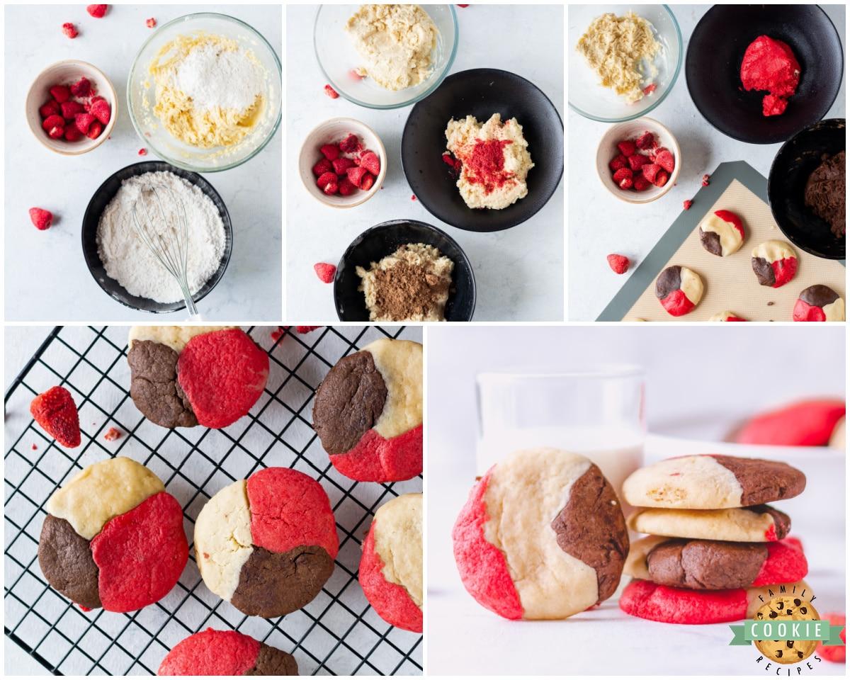 how to make neapolitan cookies