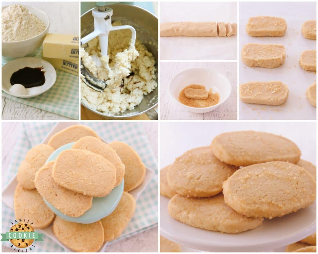 how to make vanilla butter cookies